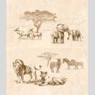Intercerama - Safari П 73 031 панно