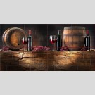 Березакерамика - Брик вино, панно