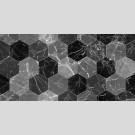 Березакерамика - Декор Дайкири черный, плитка для стен