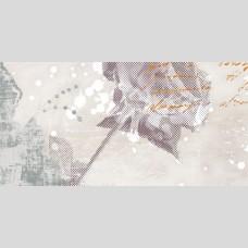 Панно Флоретта 3 серый - плитка для стен