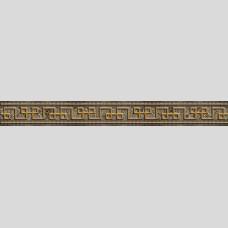 Фриз Измир коричневый - плитка для стен