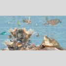 Березакерамика - Лазурь морской мир, панно