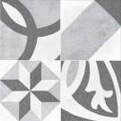 Cersanit - Henley grey pattern, плитка универсальная