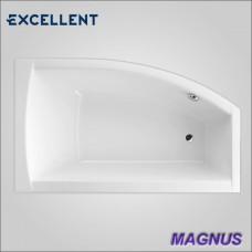 MAGNUS WAEX.MGP16WH - ванна угловая правая