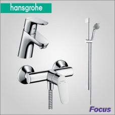 Focus 31933000 набор смесителей для душа и умывальника