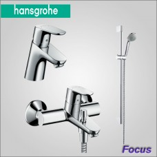 Focus 31934000 набор смесителей для ванны и умывальника