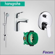 Focus набор скрытого монтажа для ванны