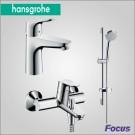 Hansgrohe Focus набор смесителей для ванны