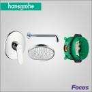 Hansgrohe Focus набор скрытого монтажа для душа
