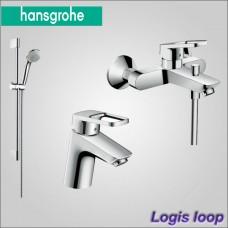 Logis Loop набор смесителей для ванны и умывальника