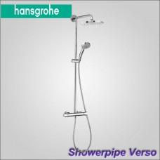 Showerpipe Verso 240 - Душевая система с термостатом