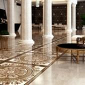 Golden Tile - Meander