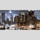 Golden Tile -  City И6М321 декор - панно