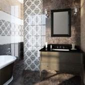 Golden Tile - Lorenzo Intarsia