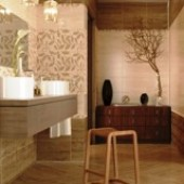 Golden Tile - Travertine mosaic