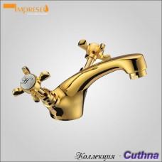 CUTHNA zlato 05280 - смеситель для раковины