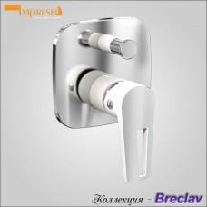 BRECLAV VR-10245WZ - смеситель для ванны скрытого монтажа