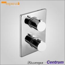 CENTRUM VRB-10400Z - смеситель для ванны скрытый с термостатом