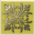 Kerama Marazzi - Вставка Клемансо оливковый, плитка для стен