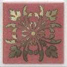 Kerama Marazzi - Вставка Клемансо розовый, плитка для стен