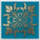 Kerama Marazzi - Вставка Клемансо бирюзовый, плитка для стен