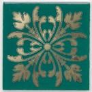 Kerama Marazzi - Вставка Клемансо зелёный, плитка для стен