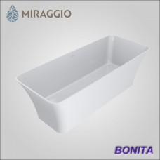Miraggio BONITA - ванна из литого мрамора, отдельно стоящая.