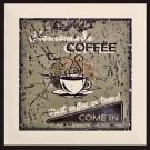 Monopole - COFFEE TIME BROWN A декор