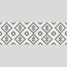 Opoczno - Pret-a-Porter BLACK & WHITE mosaic декор